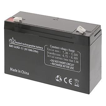 HQ Bat-lead-11 batterie au plomb 6 V 10 Ah