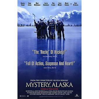 Постер фильма тайна Аляски (11 x 17)