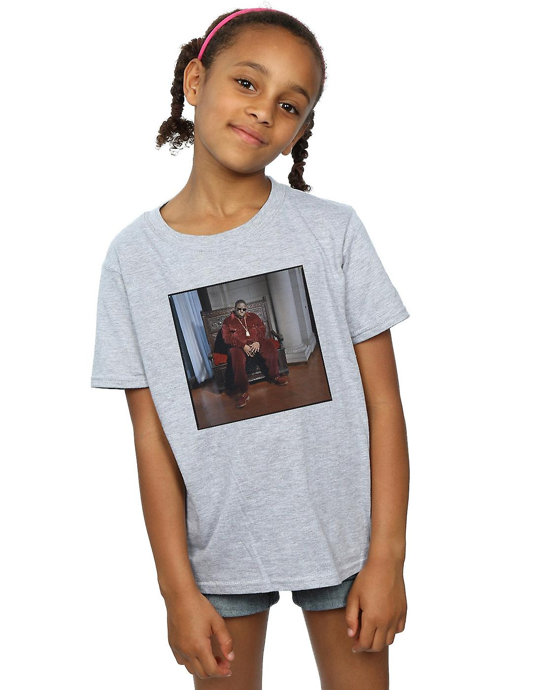 Notorious BIG Girls Biggie Chair T-Shirt