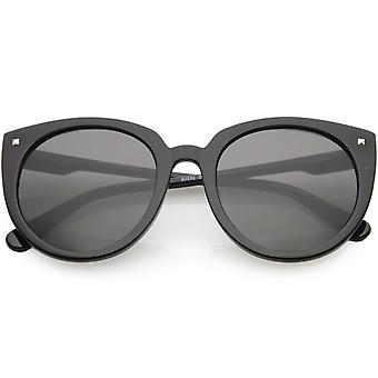 كبيرة الحجم القط العين نظارات الأسلحة المرأة ضئيلة جولة عدسة 54 مم
