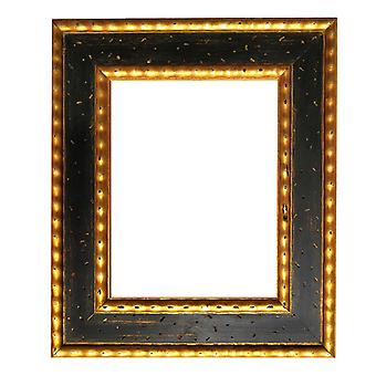 8x13 cm oder 3x5 Zoll, Nummer 2, Fotorahmen in Gold