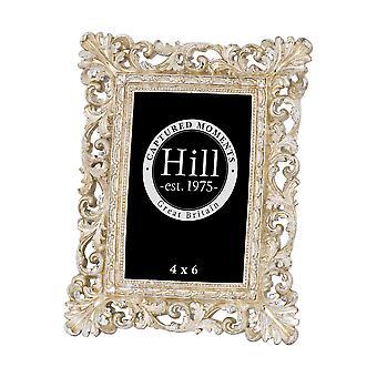 Hill interiörer antika Champagne utsmyckade utskuren fotoram