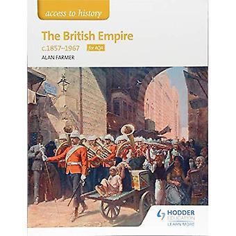Accès à l'histoire The British Empire, c1857-1967 pour AQA