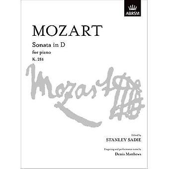 Mozart Sonata in D K. 284 (firma S.)