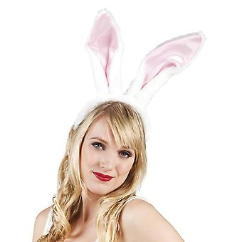 Womens Big Bunny Ears Headband Fancy Dress Accessory