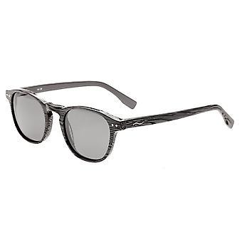 Förenkla Walker polariserade solglasögon - grå Zebra/svart