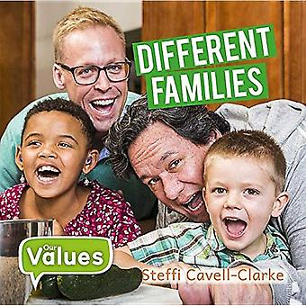 Verschiedene Familien