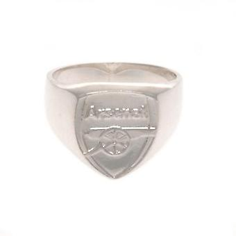 Arsenal Sterling Silver Ring Large