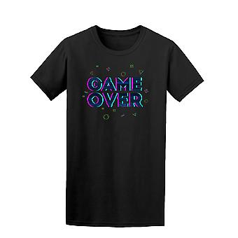 Game Over Video Games Quote Tee Men's -Image by Shutterstock