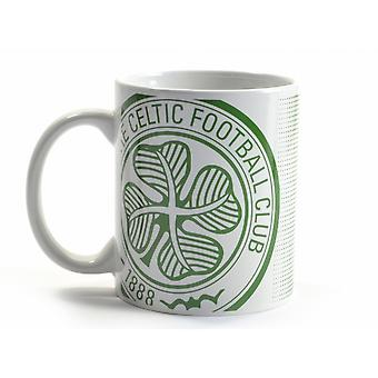 Celtic FC Halftone 0.3kg Boxed Mug