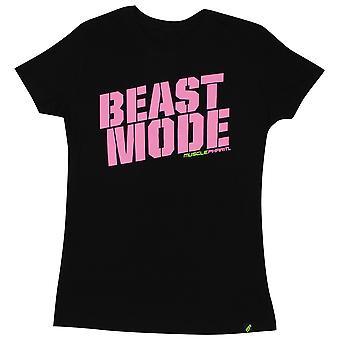 MusclePharm MP Womens Beast T-Shirt - Black