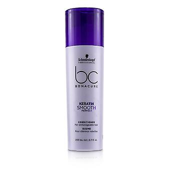 Schwarzkopf Bc Bonacure Keratin Smooth Perfect Conditioner (pour les cheveux ingérables) - 200ml/6.7oz