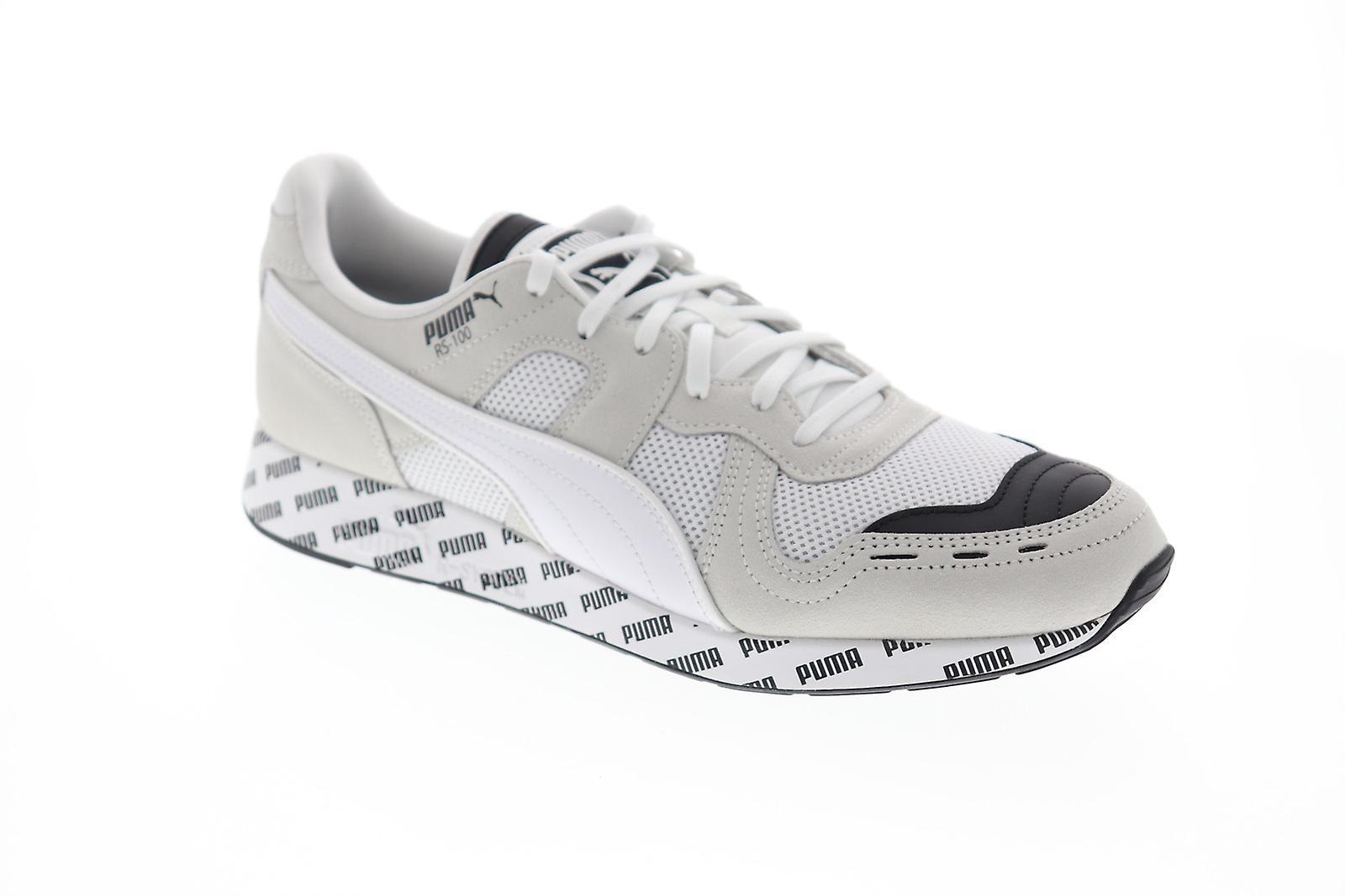 Puma RS-100 sommar mens vita mesh casual låg Top sneakers skor Puma...