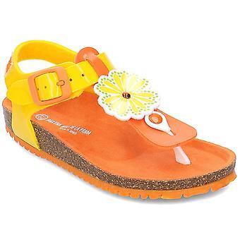 Agatha Ruiz De La Prada 192987 192987AMARILLO3034 uniwersalne letnie buty dziecięce