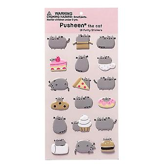 Pusheen Puffy Stickers Set