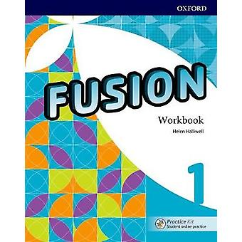 Fusion - Level 1 - Workbook with Practice Kit - 9780194016476 Book