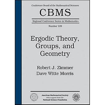 Teoria ergodica-gruppi-e geometria di Robert J. Zimmer-Dave Wit