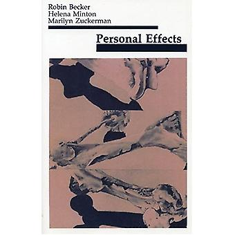 Personal Effects by Marilyn Zuckerman - 9780914086154 Book
