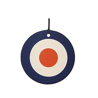 Ambientador de coche británica Royal Air Force Air Force Roundel