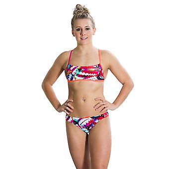 Speedo Electric Gem 2 Piece Crossback Swimwear For Girls