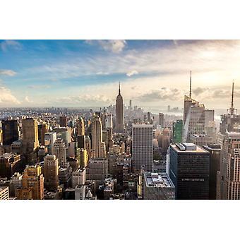 Wallpaper Mural New York City Skyline