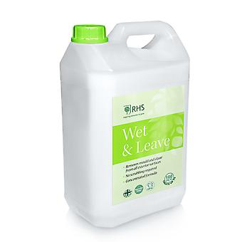 Wet and Leave Concentrated RHS 5L Algae and Mould remover No scrubbing required