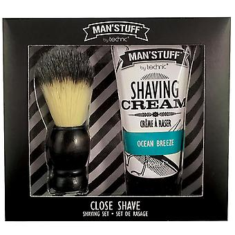 Man'Stuff Close Shave Shaving Set