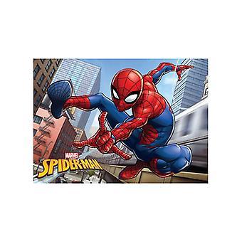 Spiderman City Floor Mat Rug 40cm x 60cm