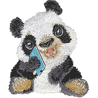 Patch - Animal Club - Bears Panda Iron-On New Gifts Toys p-4485