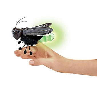 Finger Puppet - Folkmanis - Mini Firefly New Animals Soft Doll Plush Toys 2728