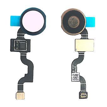 עבור גוגל פיקסל 3A XL טביעת אצבע חיישן אצבע ורוד Flex כבלים Flex כפתור הבית