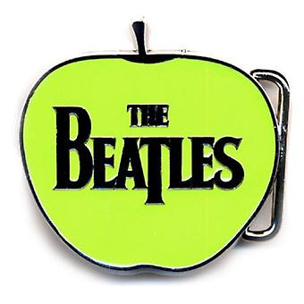 The Beatles Belt Buckle Classic Apple Shaped Band Logo new Official Metal