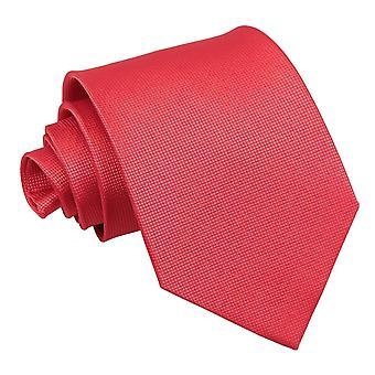 Gravata clássico vermelho sólido Check