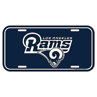 Wincraft NFL License Plate - Los Angeles Rams