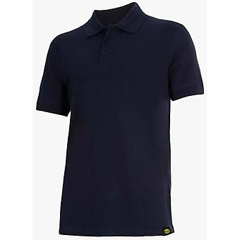 Utility Diadora Short Sleeve Polo II Blue Atlar (DIY , Tools , Security)