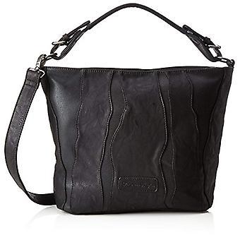 Fritzi aus Preussen Rahel - Donna Schwarz shoulder bags (Black) 15x30x42 cm (B x H T)