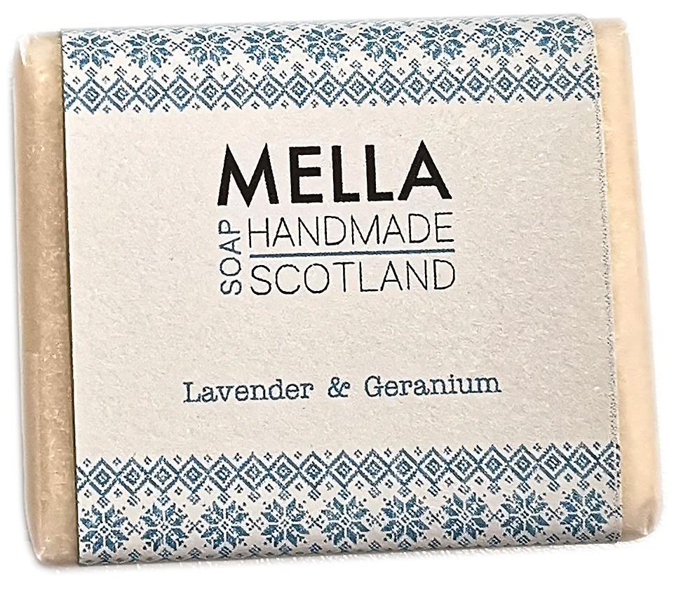 Lavender & Geranium Soap Bar - Mella Handmade Soaps Shetland