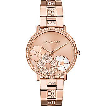 Michael Kors Mk3865 Jaryn Rose Gold-Tone vrouwen ' s chronograaf horloge