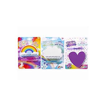 Grafix Mini Notepad With Pen (3 Assorted, One Supplied)