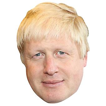 Boris Johnson Britannian pääministeri Single 2D Card Party Fancy Mekko Mask