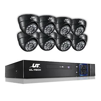 1080P Security Camera 8-channel CCTV
