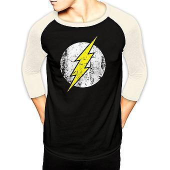 DC Comics The Flash - Logo Baseball T-Shirt