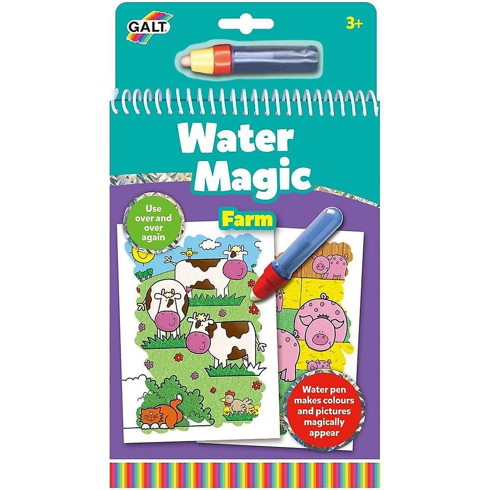 Galt Water Magic - Farm  - Re-usable Colouring Book