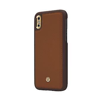 Marvêlle iPhone X/Xs Magnetic Case Light Brown Chic
