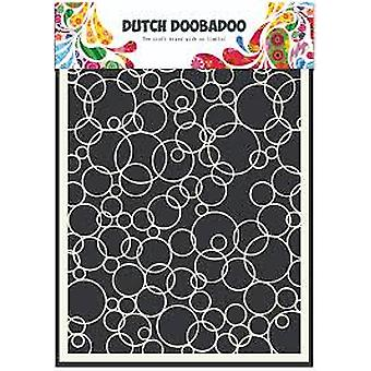 Dutch Doobadoo A5 Mask Art Stencil - Bubbles 3 470.990.004