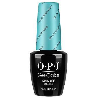 OPI GelColor Gel Color - Soak Off Gel Polish - Gelatto On My Mind 15ml (GC V33)