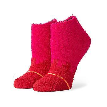Postura Digi Cozy No Show Socks em Fuschia