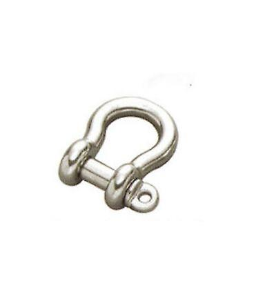 4mm Stainless Steel 316 (a4) Bow Shackle