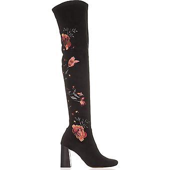 INC International Concepts Womens Delisa2 Fabric Closed Toe Over Knee Fashion...
