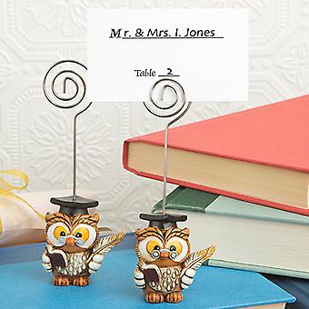 Wise Graduation Owl Place Card Holder